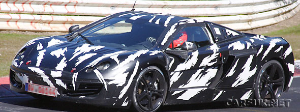 The McLaren P11 has been pounding round the Nurburgring ahead of a launch on 9th September