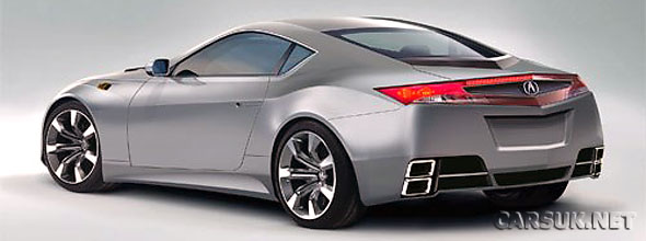 The 2010 Honda NSX. To Be Replaced By A New Hydrogen Fuelled S2000 In 2010