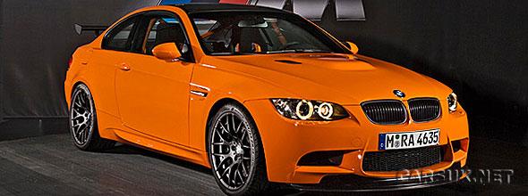 The BMW M3 GTS