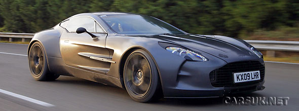 The Aston Martin One 77 Testing Video Below