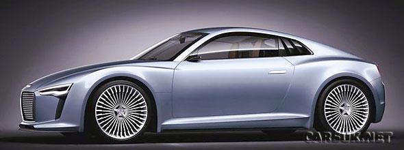 The Audi e-Tron Detroit