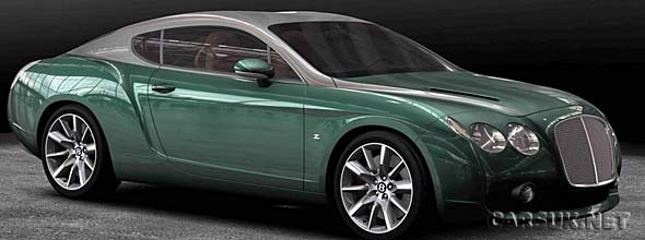 The Bentley Zagato GTZ