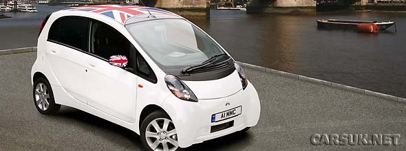 mitsubishi i miev uk price and specs revealed. Black Bedroom Furniture Sets. Home Design Ideas