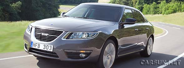 New Saab 9-5 (2010) prices announced