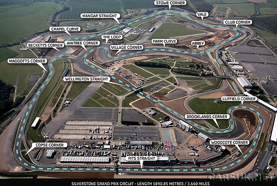 silverstone unveils new f1 circuit. Black Bedroom Furniture Sets. Home Design Ideas