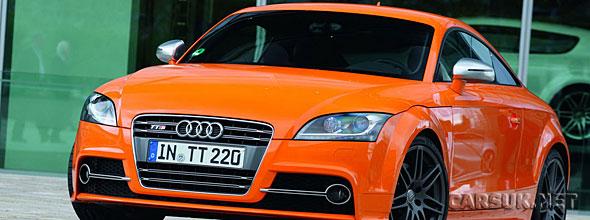The Audi TT Facelift 2010
