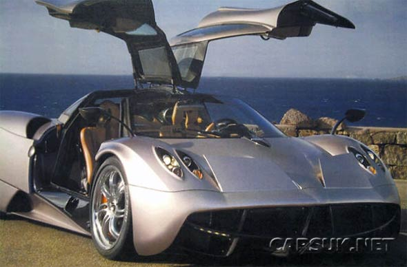 Pagani Huayra First Photo