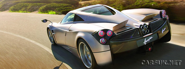 How does the Pagani Huayra cost? 825,000 Euros.