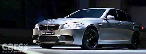 2012 BMW M5 to get 4WD? +M5 Concept Video