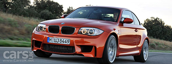 BMW 1 Series M Coupe UK video