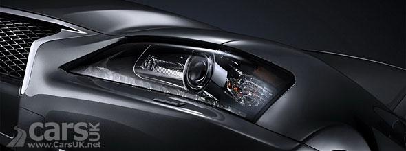 2012 Lexus GS-F Sport Tease