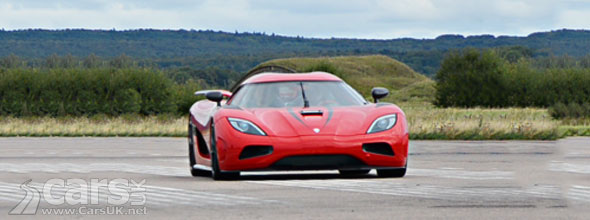 Koenigsegg Agera R claims world speed records