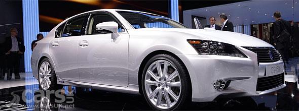 New Lexus GS 450h