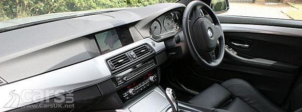 BMW 520d SE Touring Interior