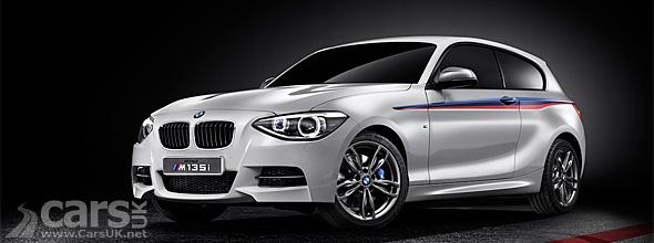 White BMW M135i Concept
