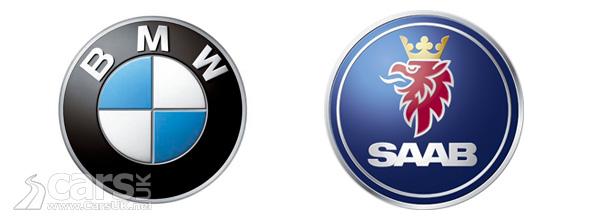 BMW Logo & Saab Logo