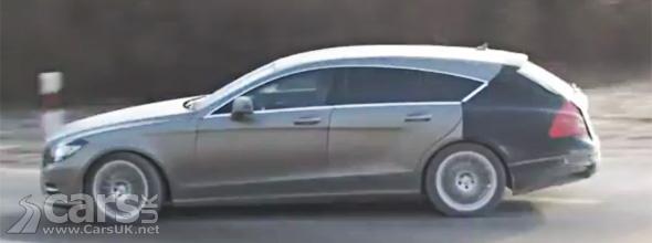 Camouflaged Mercedes CLS Shooting Brake Estate