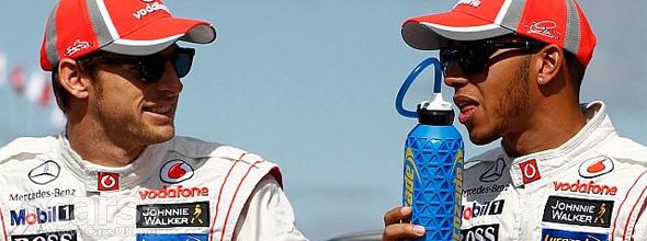 Button & Hamilton 2012 Malaysian Grand Prix