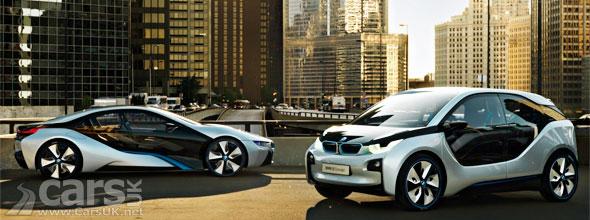 BMW i3 & BBMW i8