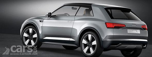 Audi Crosslane Coup Concept Paris 2012 Cars Uk