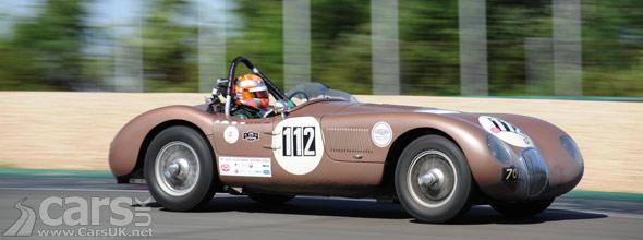 Photo of Jaguar C-Type at the Oldtimer Grand Prix