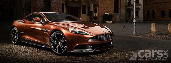 Photo of new Aston Martin Vanquish