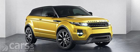 Photo of Range Rover Evoque Sicilian Yellow