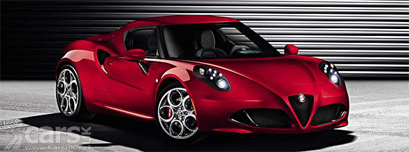 Red Alfa Romeo 4C production version image