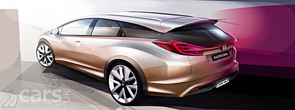 Image of Honda Civic Wagon Concept - a new Civic Estate