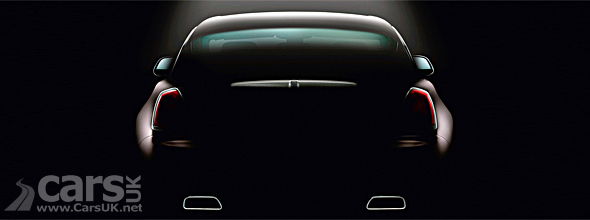 Rolls Royce Wraith Tease of back end image