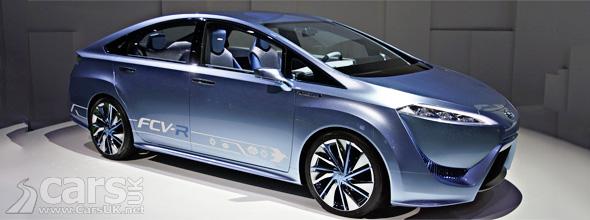Photo Toyota FCV-R