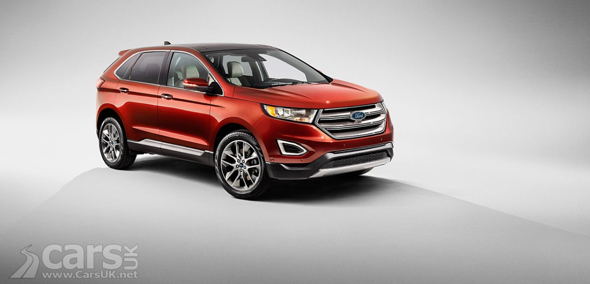 New Ford Edge Suv Revealed And Its Heading For The Uk