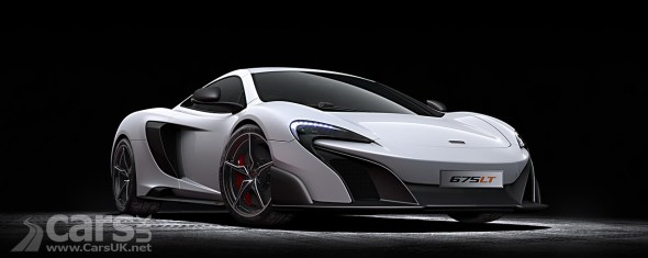 Photo McLaren 675LT revealed