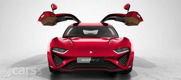 Quant F Electric Super Saloon With And Mile Range