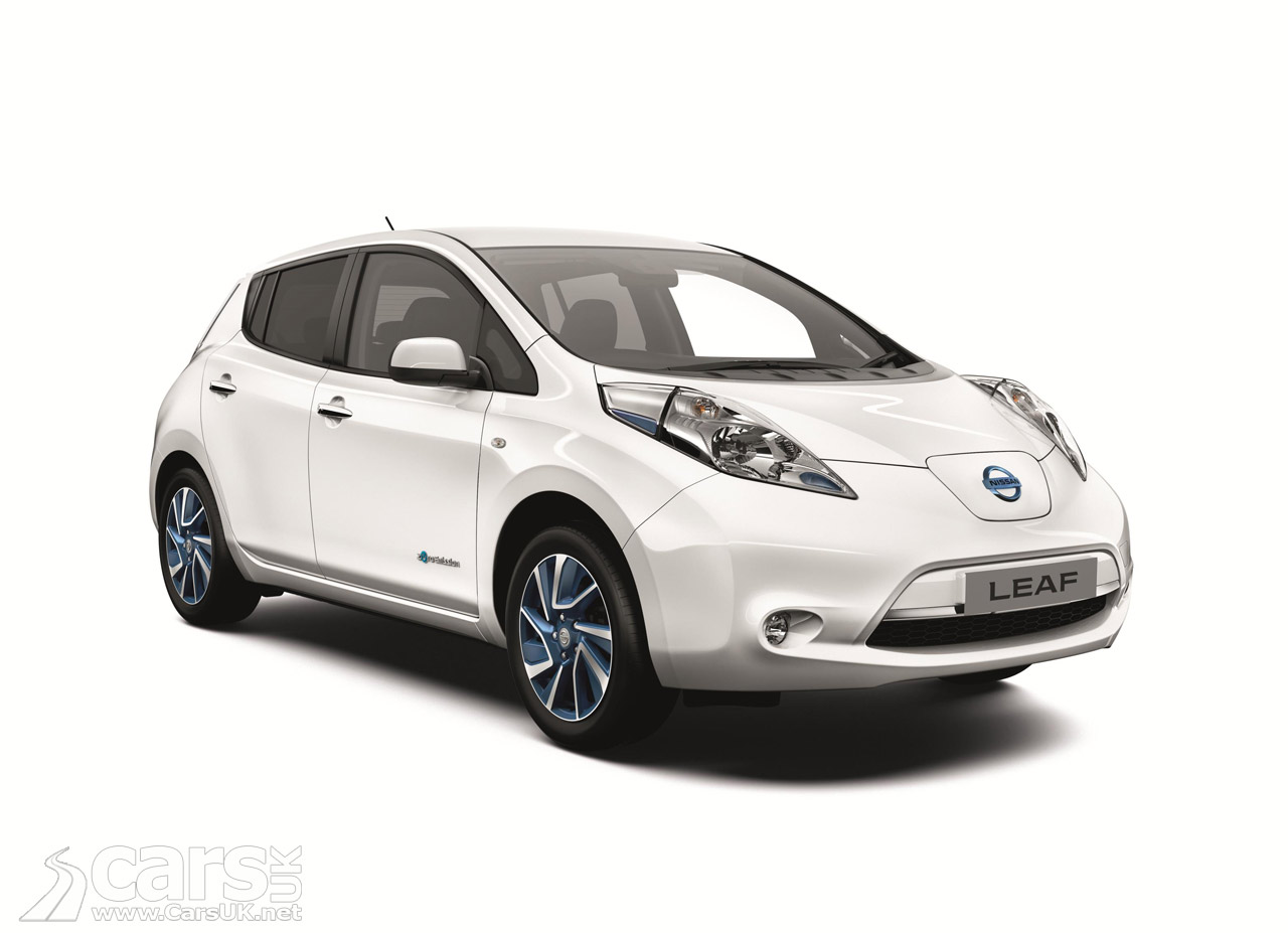 View Of Nissan LEAF Acenta+ Trim