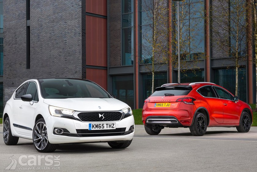 Citroens Ds4 Ds4 Crossback Uk Price And Specification