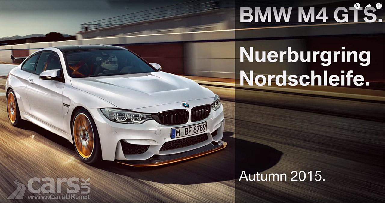 Photo BMW M4 GTS Nurburgring