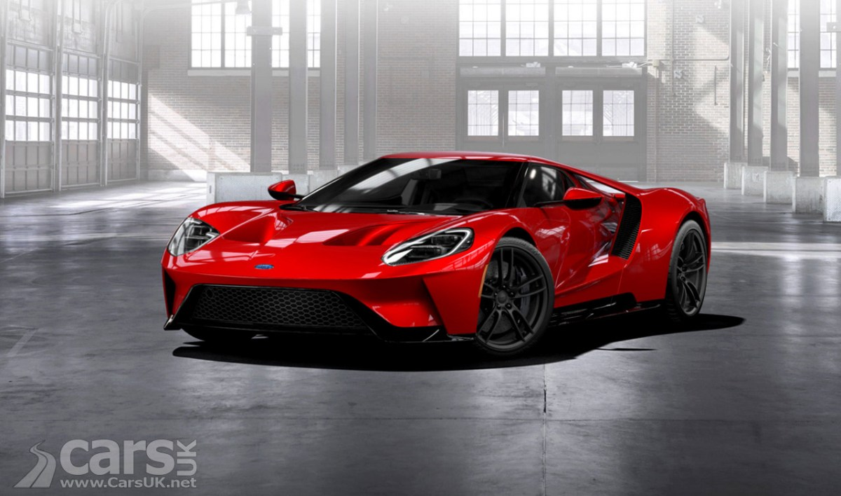 Ford Gt Supercar Configurator Live As Order Book Sort Of Opens