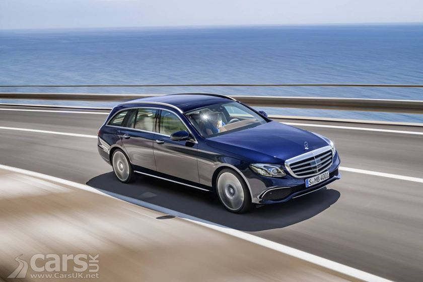 New Mercedes E-Class Estate arrives - and there\'s an AMG E43 4MATIC ...