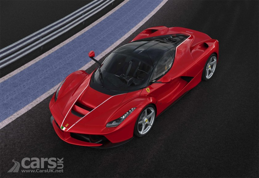 Photo Ferrari's 500th LaFerrari