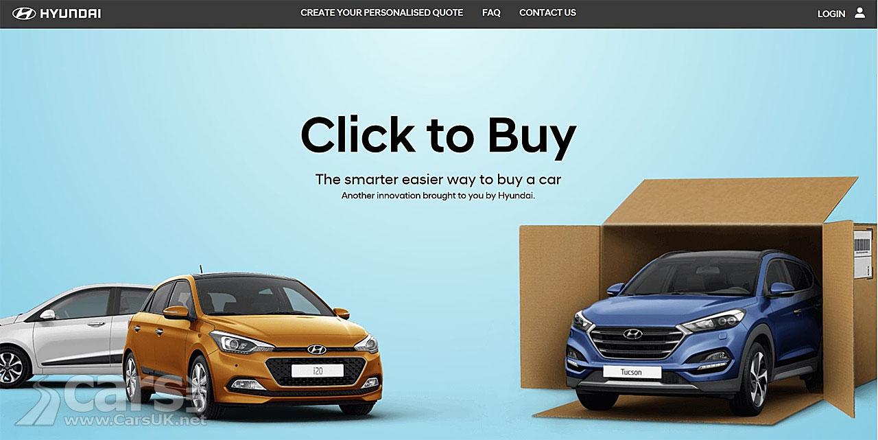 Hyundai\'s \'Click to Buy\' website now LIVE - a new Hyundai just a ...