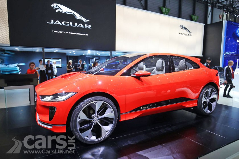 Photo Jaguar i-Pace Geneva 2017