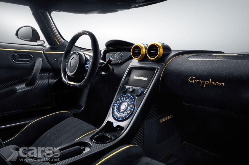 Photo Koenigsegg Agera RS 'Gryphon' Interior