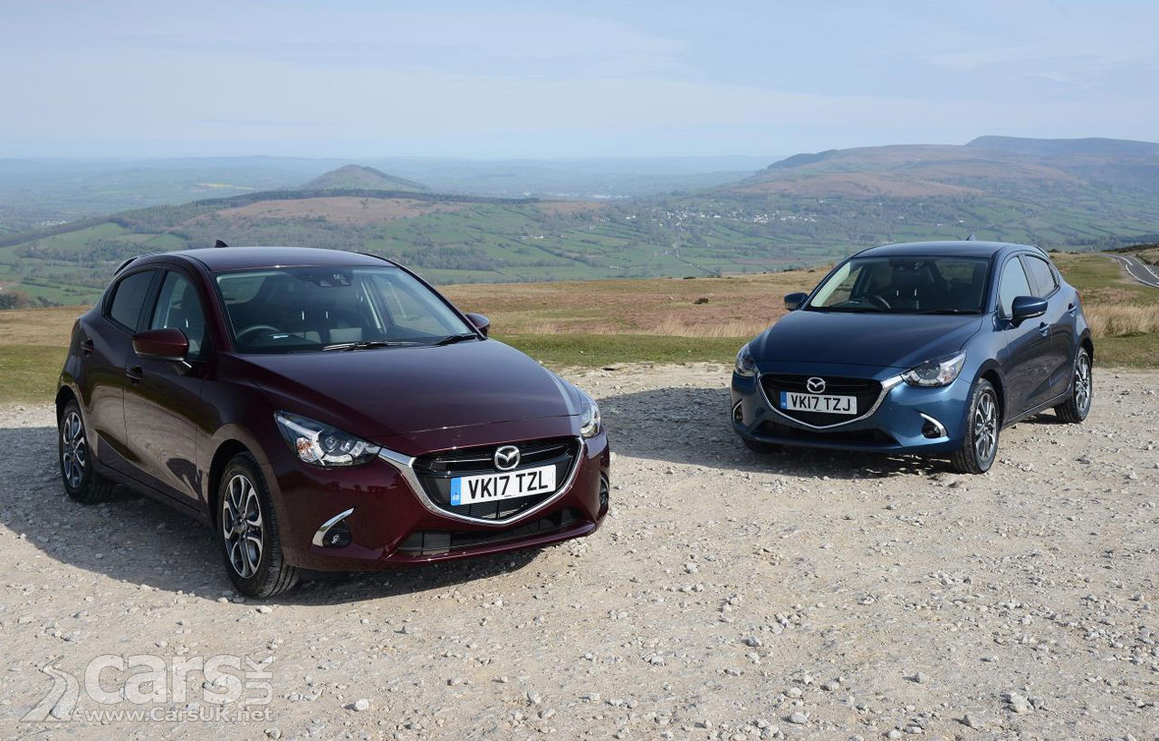new mazda 2 gt and gt sport head updates to the mazda 2 range in the uk prices from 12 695. Black Bedroom Furniture Sets. Home Design Ideas
