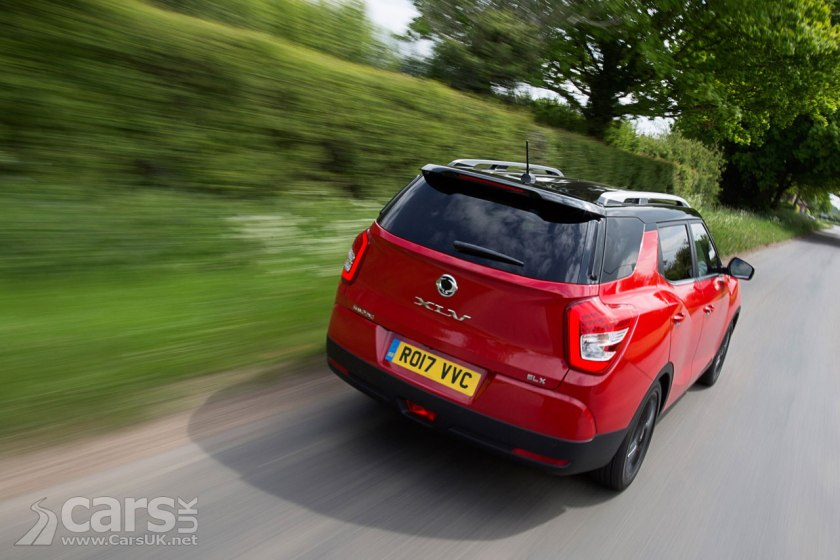Photo 2017 Ssangyong Tivoli on the Road