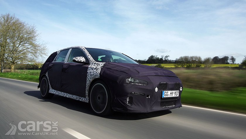 Photo Hyundai i30 N UK Roads