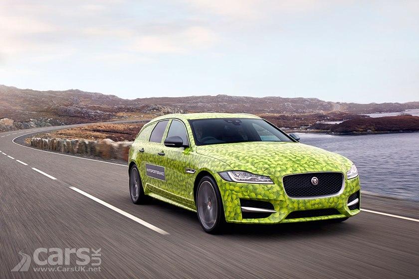 Photo New Jaguar XF Sportbrake tease
