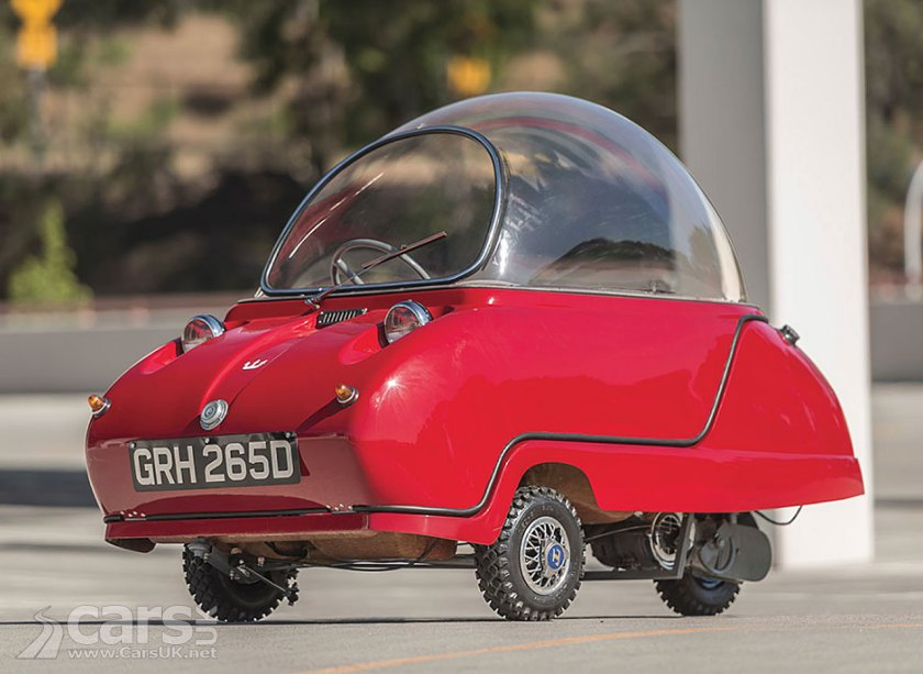 Peel Trident Micro Car 1 Of Just 45 Heading For Auction Could
