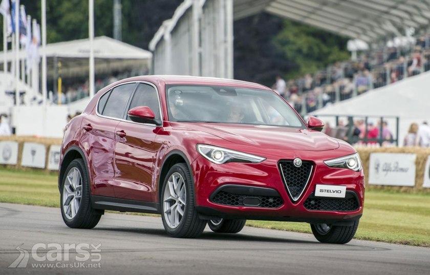 Alfa Romeo Stelvio Uk Price Specs Costs From 33 990 For The
