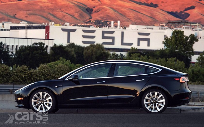 First photo of the new Tesla Model 3 EV in production guise
